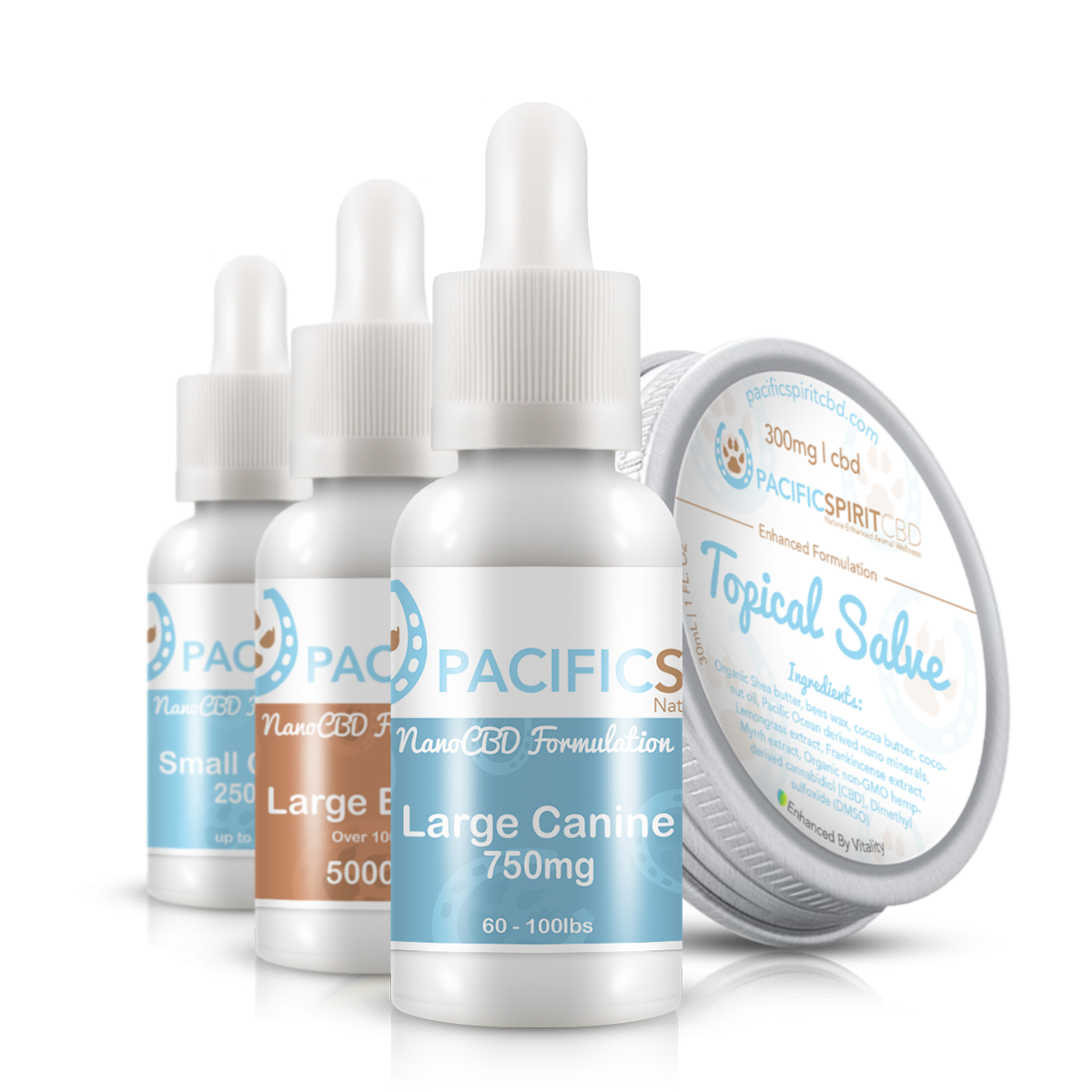 Paciific Spirit CBD for pets